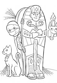 Small Picture Halloween Mummy Printable Coloring Pages Hallowen Coloring pages