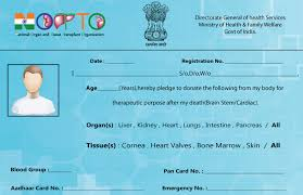 Create Logo For Notto Donor Pledge Card And Slogan On Organ