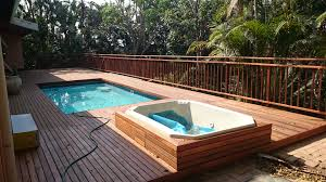 Wood Pool Deck Wooden Pool Deck Built In Westville Durban The Wood Joint