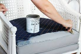 diy how to paint an upholstered chair vintage chair diy diy chalk painted