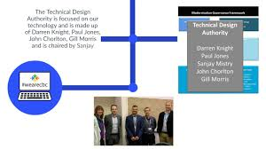Technical Design Authority Governance Modernisation Programme Technical Design Authority