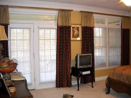 Special french door window treatments classy door design image of window  treatment for french door bedroom