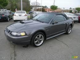 2003 Dark Shadow Grey Metallic Ford Mustang GT Convertible ...