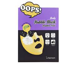 Маска-<b>пилинг для сияния кожи</b> Soda Bubble Mask Brighten Fruit ...