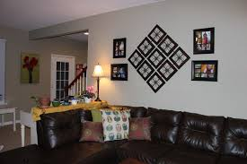 fascinating easy ways to beautify family room wall living