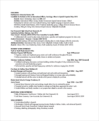 Resume Of Trainer Personal Trainer Resume Template 7 Free Word Pdf Document