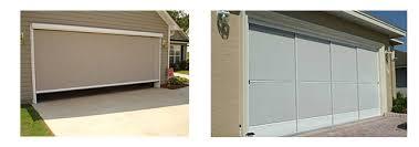 screened in garage doorGarage Door Screen Service  Sales in the Orlando  Tampa Area