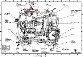 ford racing speedometer recalibration tool  in the 16 pin connector identify circuit 679 which should be a gray black wire in cavity 15 this is the vss signal wire use the procedure listed
