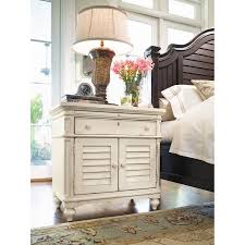Paula Deen Bedroom Furniture Collection Steel Magnolia Paula Deen Home Steel Magnolia 1 Drawer Nightstand Reviews Wayfair