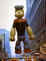 macy s thanksgiving day parade photos macy s balloons popeye in the macy s thanksgiving day parade 1968 nyc