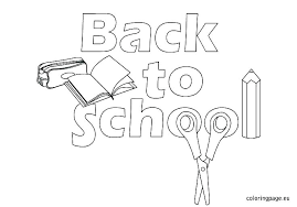 school house coloring pages welcome back to page