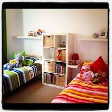 Shared room good idea for girls and boys, very simple to do! | Organize! |  Pinterest | Shared rooms, Room and Girls