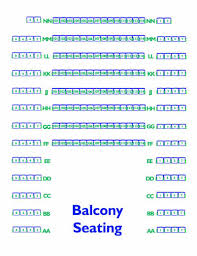 Seating Chart Erie Playhouse