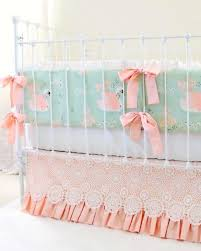 swan love baby bedding