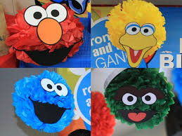 Printable Face Templates Enchanting Sesame Street Birthday Party Decoration 48 Printable DIY Etsy