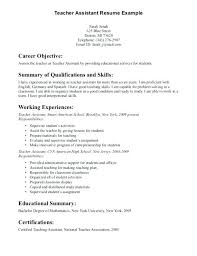 Entry Level Resume Objective Entry Level Resume Sample No Work Experience The Incredible 73