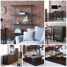Industrial Living Room Furniture Spitalfields Industrial Rustic Living Room Furniture Collection