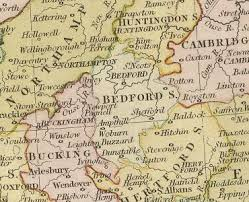 history of bedfordshire map and description for the county Bedfordshire On Map location map click to enlarge bedfordshire bedfordshire on sunday newspaper