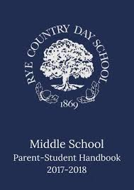 Country Student School 18 2017 parent Middle By Rye Handbook Day F8S45xnq