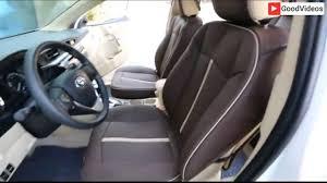Toyota Camry,Corolla,RAV4 leather seat covers - YouTube