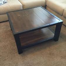 Coffee Table,Industrial,Wood Table,Living Room,Office