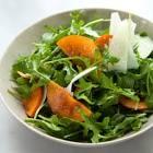 arugula salad with shaved manchego
