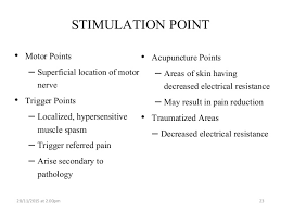 Motor Points For Electrical Stimulation Chart Electrical Stimulation