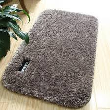 2019 fluffy anti slip bathroom mat kitchen floor mat doormats living room bedroom carpet soft toilet bath rug for bathroom decor from plumer