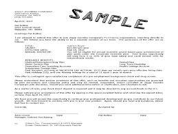 Opt Job Offer Letter Sample Resume Cover Letter Template