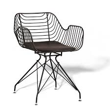 meridian metal chair design garden