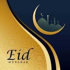 elegant eid festival greeting card ...