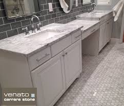 carrara venato marble hexagon polished 2 mosaic tile