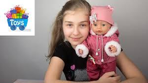 <b>Одежда</b> для куклы беби бон. Baby born doll. - YouTube