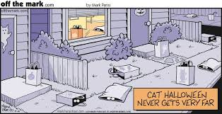 Image result for off the mark Cat halloween cartoons