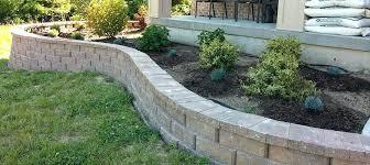 retaining wall design residential retaining wall design and build in county retaining wall design