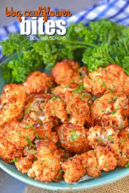 bbq cauliflower bites make a healthy and quick appetizer or side make them zesty tangy or even sweet with your favorite sauce perfect for parties or game