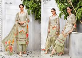 Arkandi Suit Designs Jinaam Dress Rutbaa Organdy Embroidery Suits Wholesale