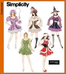 Simplicity Patterns Costumes Stunning Christmas Craft Customs Simplicity Sewing Pattern 48 for