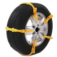 Aleko Tire Chain Size Chart Aleko Adjustable Fit Emergency Anti Skid Snow Chain Straps Yellow 10 Pack Walmart Com