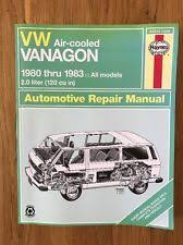 vanagon repair manual haynes repair manual for 1980 1983 volkswagen vw vanagon air cooled 2 0 liter