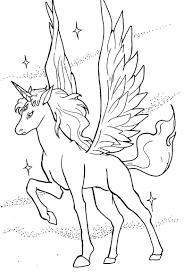 Sampler Pegasus Colouring Pages Free Printable 20454