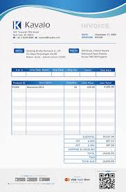 sample invice samples of invoices free invoice template