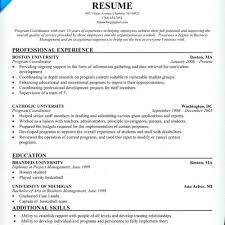 recreation coordinator cover letter program coordinator resume program coordinator resume program