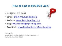 80 10 10 Loan Understanding The Basics