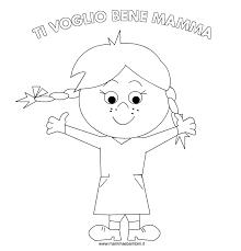 Disegni Mamma Con Bambino Az Colorare