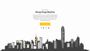 Hong Kong Powerpoint Template Luxury Archie Animated Presentation ...
