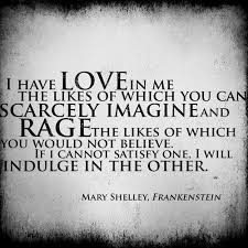 Rage Quotes Cool Frankenstein Quotes Best Meaningful Sayings Love Rage Fav