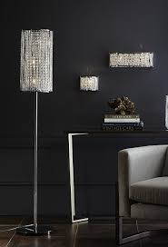 crystal floor lamp chandelier chrome lamps modern black urban barn style tall shade tree gold with dimmer industrial table standard chandeliers design