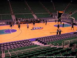 Vivint Smart Home Arena View From Lower Level 19 Vivid Seats