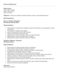 Sample Resume Objective Statements Adorable Resume Objective Waitress Waitress Resume Objective Examples